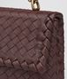 BOTTEGA VENETA DARK BAROLO INTRECCIATO NAPPA BABY OLIMPIA BAG Shoulder Bag Woman ep