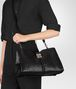 BOTTEGA VENETA NERO NAPPA LARGE NAPOLI BAG Top Handle Bag Woman lp