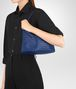 BOTTEGA VENETA COBALT INTRECCIATO NAPPA SMALL SHOULDER BAG Shoulder Bag Woman lp