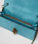 BOTTEGA VENETA AQUA INTRECCIATO NAPPA TOP KNOT CLUTCH Clutch Woman dp