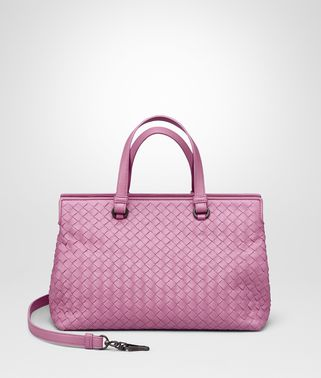 TWILIGHT INTRECCIATO NAPPA MEDIUM TOP HANDLE BAG