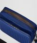 BOTTEGA VENETA COBALT BLUE CANVAS MESSENGER BAG Messenger Bag Man dp