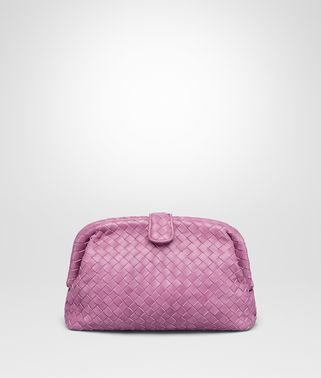 CLUTCH THE LAUREN 1980 IN INTRECCIATO NAPPA TWILIGHT