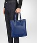 BOTTEGA VENETA COBALT BLUE INTRECCIATO AQUATRE BAG Tote Bag Man ap