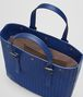 BOTTEGA VENETA COBALT BLUE INTRECCIATO AQUATRE BAG Tote Bag Man dp