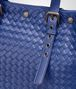 BOTTEGA VENETA COBALT BLUE INTRECCIATO AQUATRE BAG Tote Bag Man ep