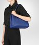 BOTTEGA VENETA COBALT INTRECCIATO NAPPA MEDIUM TOTE BAG Tote Bag Woman lp