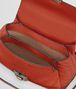 BOTTEGA VENETA TERRACOTTA CALF MINI PIAZZA BAG Top Handle Bag D dp