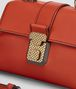 BOTTEGA VENETA TERRACOTTA CALF MINI PIAZZA BAG Top Handle Bag D ep