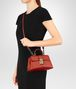 BOTTEGA VENETA TERRACOTTA CALF MINI PIAZZA BAG Top Handle Bag D lp
