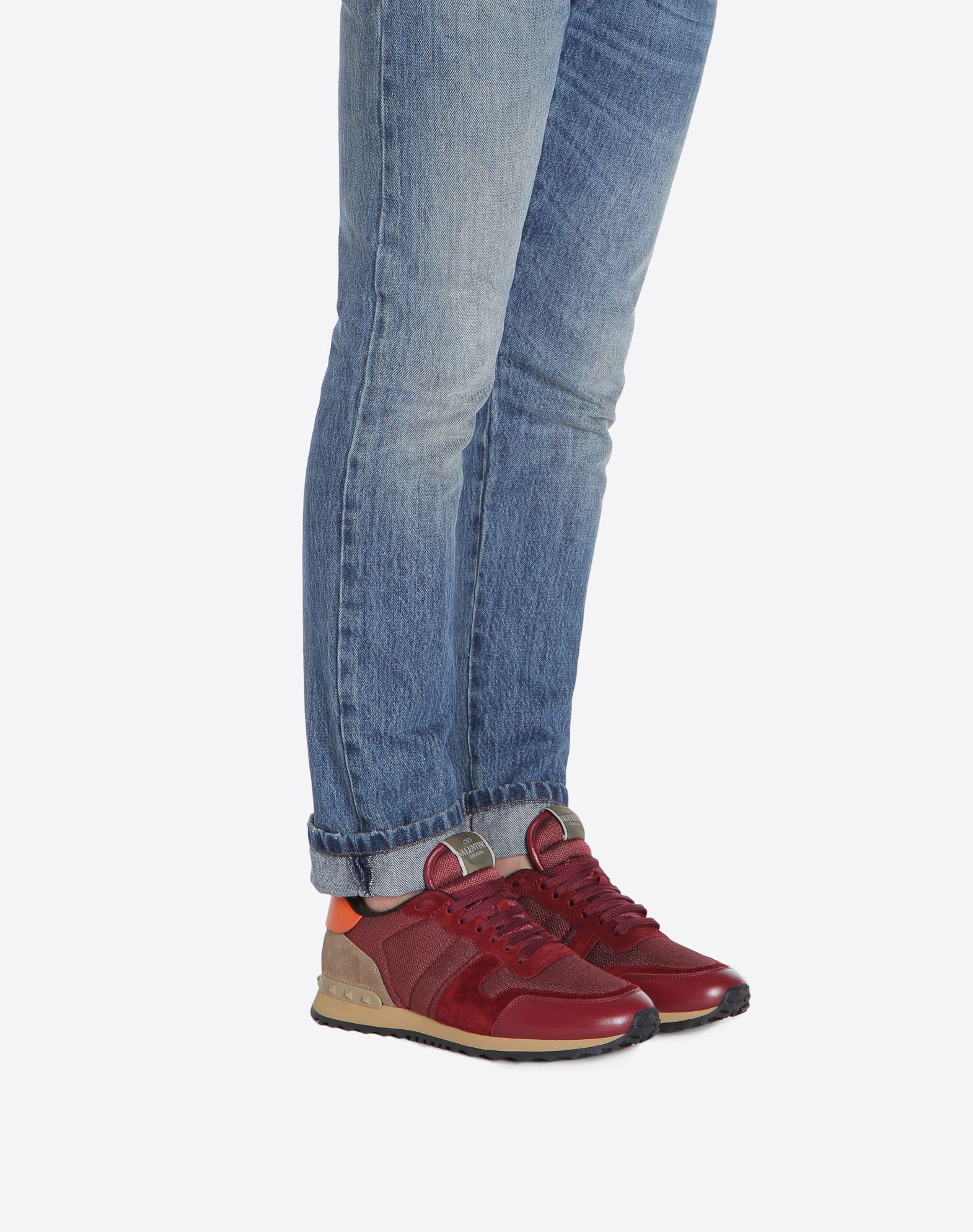 VALENTINO GARAVANI UOMO Rockrunner Sneaker LOW-TOP SNEAKERS U a