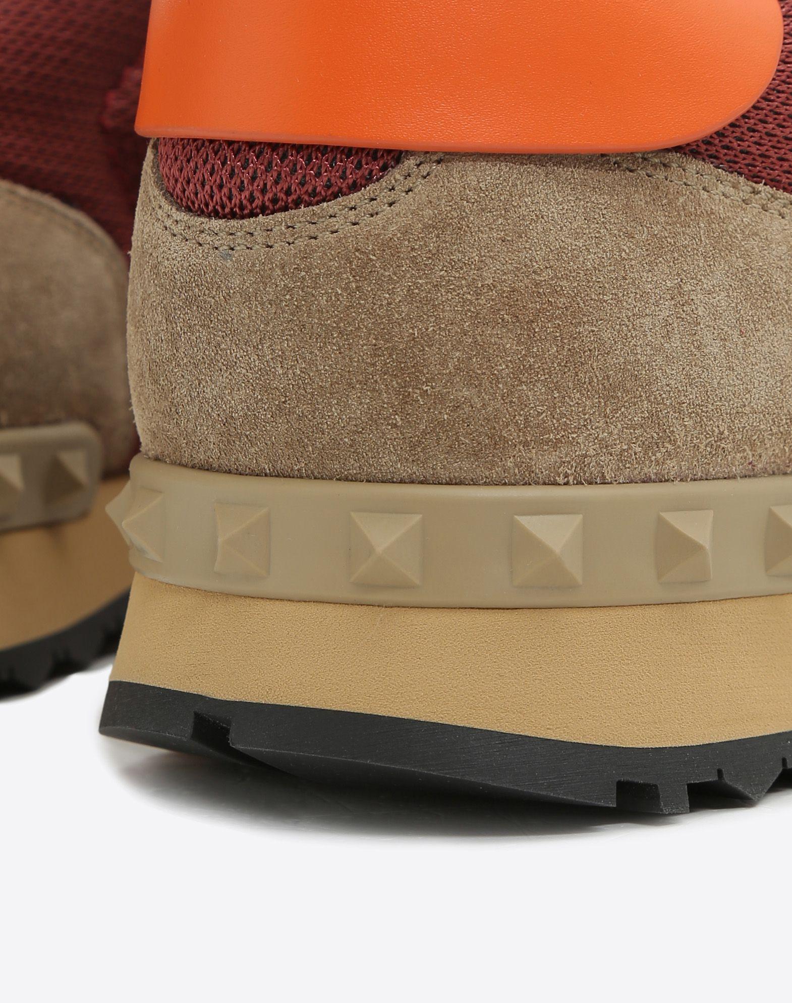 VALENTINO GARAVANI UOMO Rockrunner Sneaker LOW-TOP SNEAKERS U b