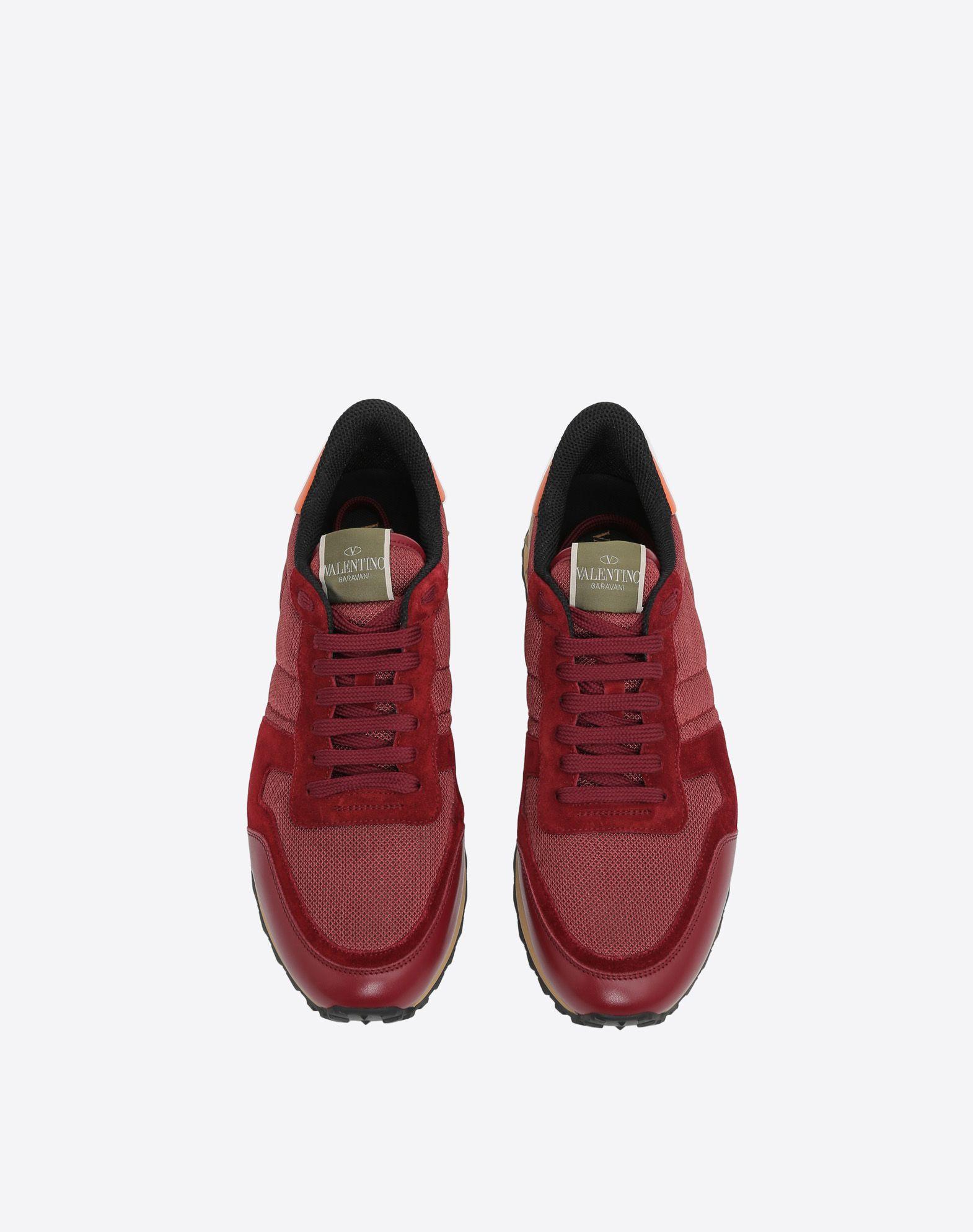 VALENTINO GARAVANI UOMO Rockrunner Sneaker LOW-TOP SNEAKERS U e