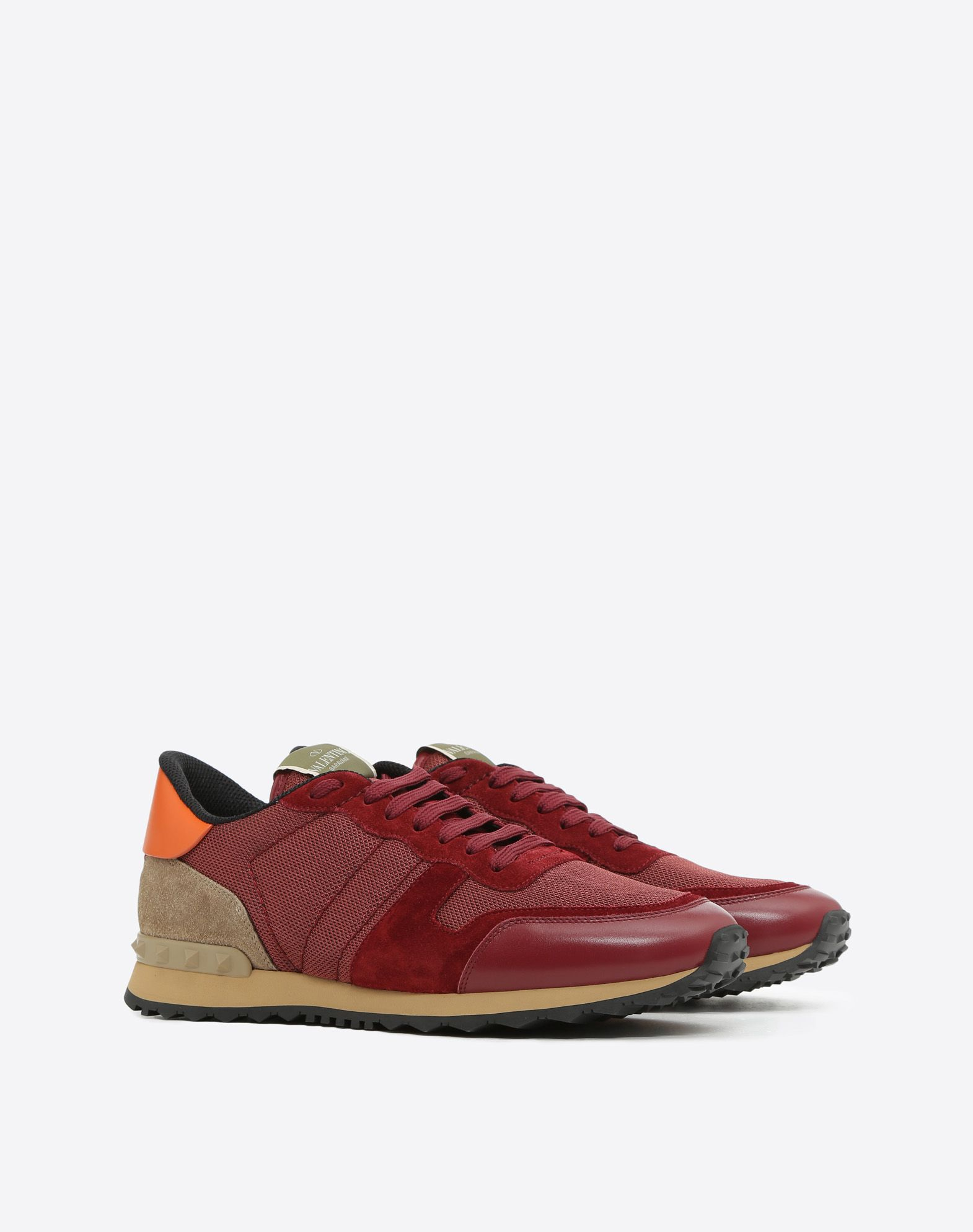 VALENTINO GARAVANI UOMO Rockrunner Sneaker LOW-TOP SNEAKERS U r