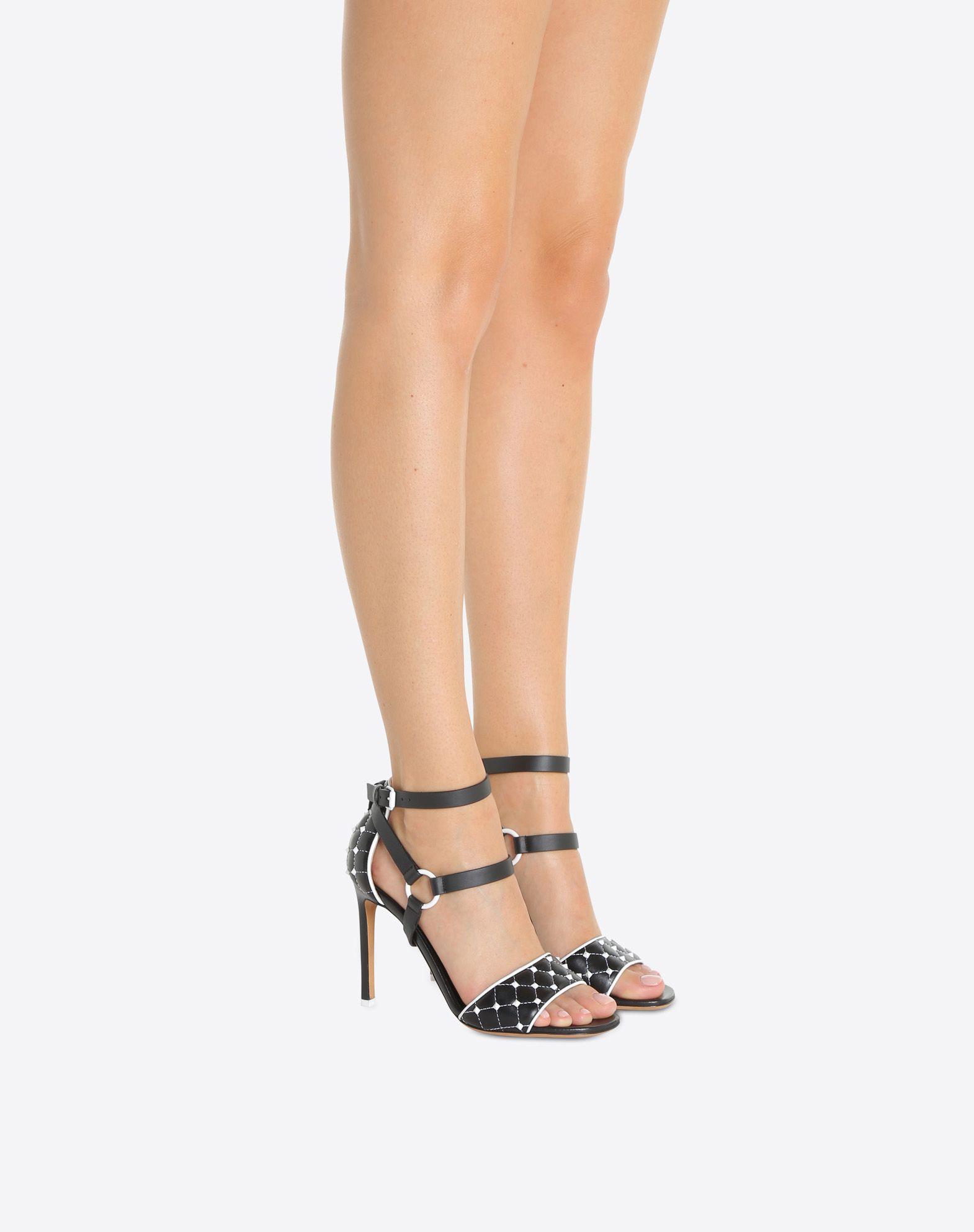 VALENTINO GARAVANI Free Rockstud Spike 凉鞋 SANDALS TACCO ALTO D a