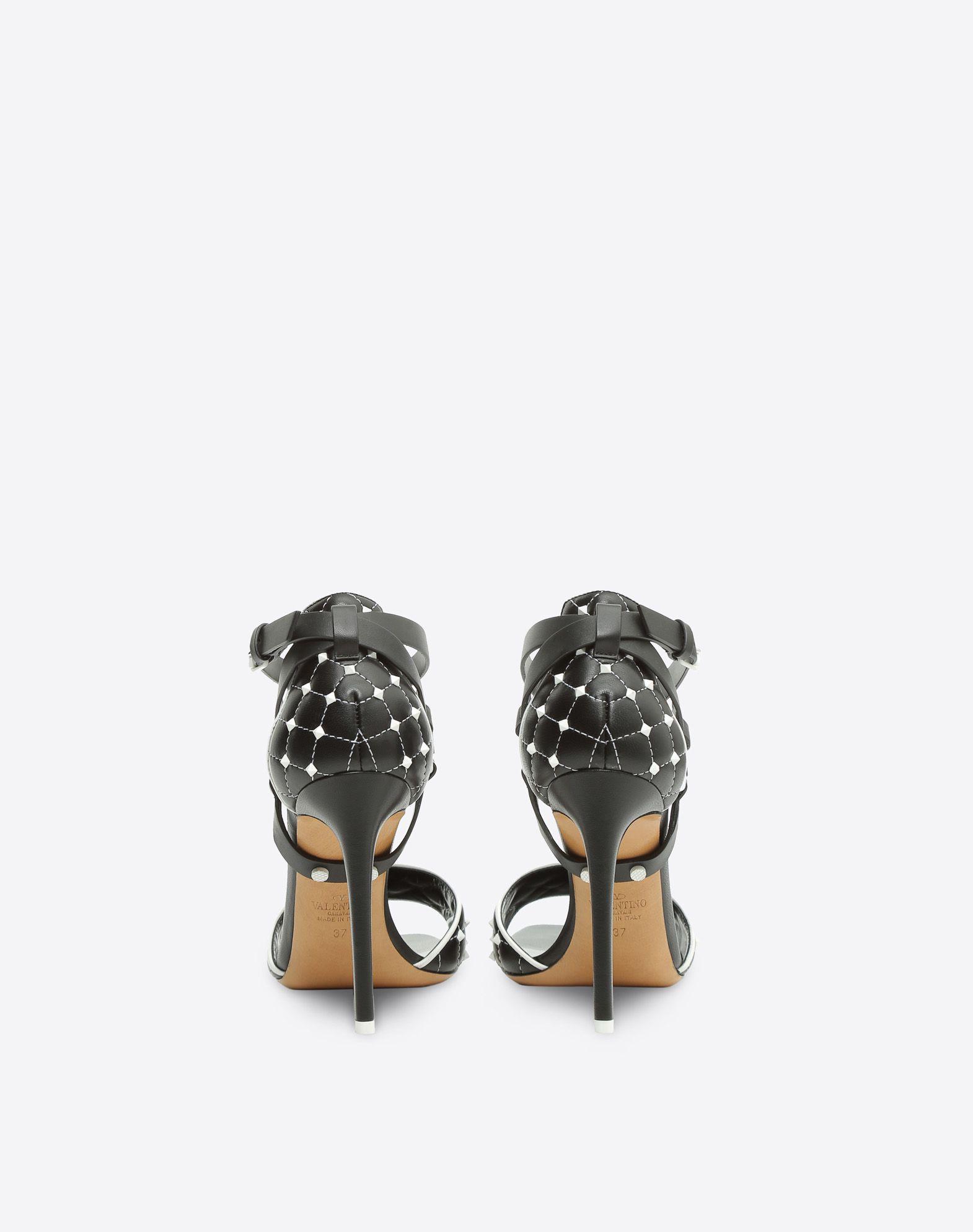 VALENTINO GARAVANI Free Rockstud Spike 凉鞋 SANDALS TACCO ALTO D d