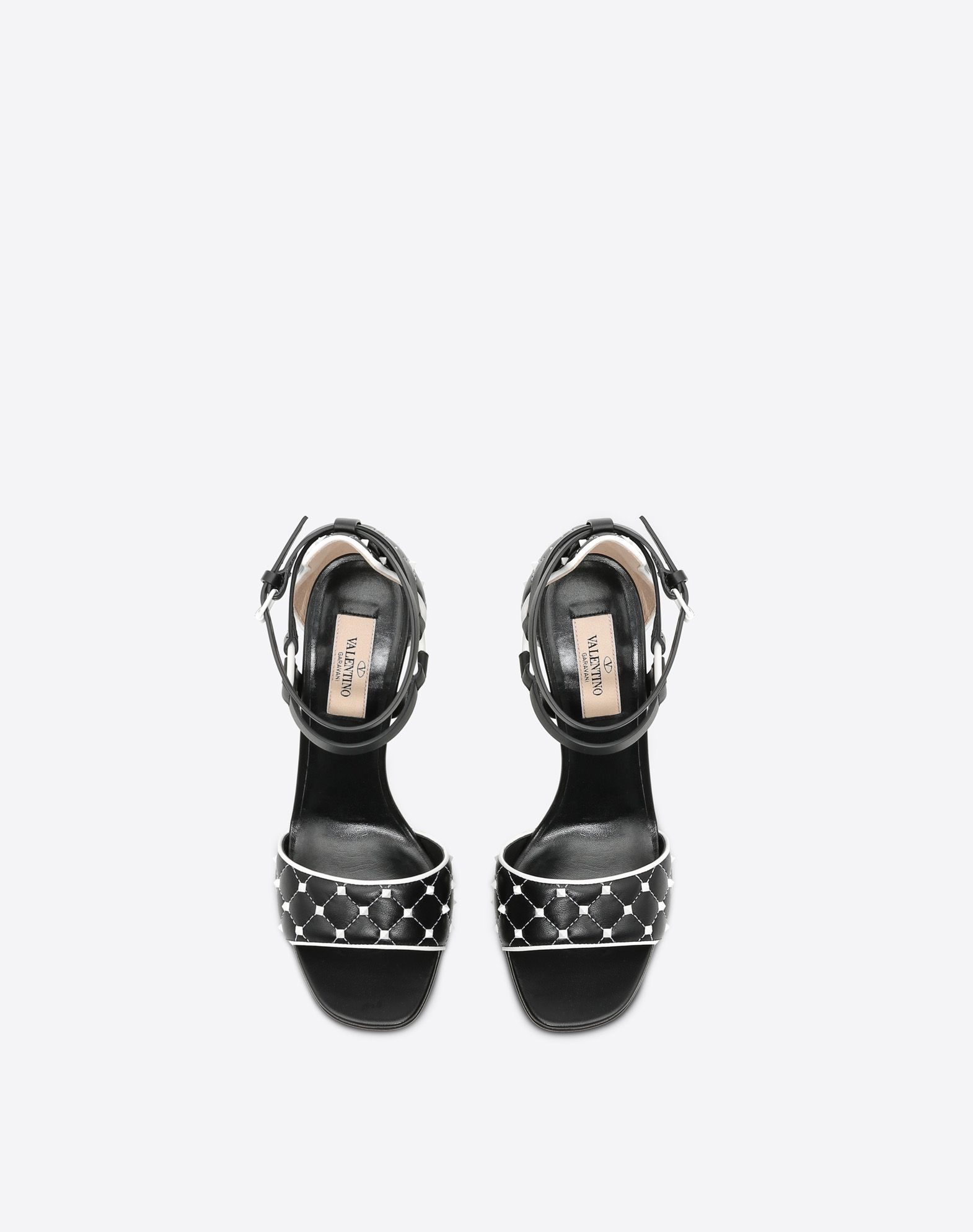 VALENTINO GARAVANI Free Rockstud Spike 凉鞋 SANDALS TACCO ALTO D e