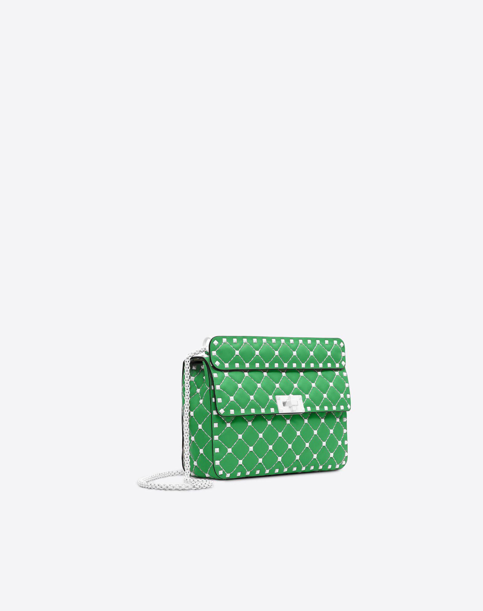 VALENTINO GARAVANI Free Rockstud Spike Medium Chain Bag Shoulder bag D r