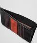 BOTTEGA VENETA NERO TERRACOTTA INTRECCIATO NAPPA DOCUMENT CASE Small bag Man dp