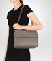 BOTTEGA VENETA STEEL INTRECCIATO NAPPA MEDIUM OLIMPIA BAG Shoulder Bag Woman ap