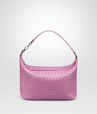 TWILIGHT INTRECCIATO NAPPA SMALL SHOULDER BAG