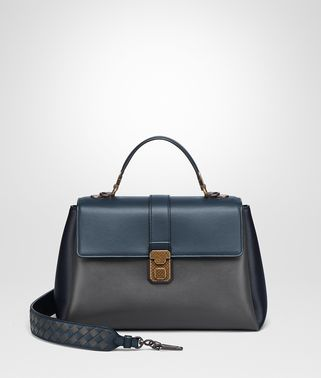 ARDOISE NAPPA MEDIUM PIAZZA BAG