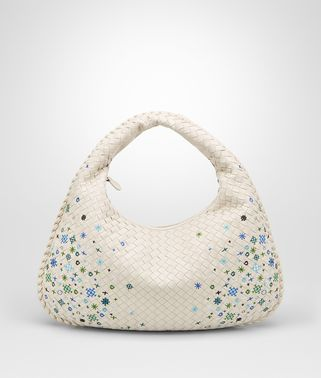 BORSA VENETA MEDIA IN INTRECCIATO MEADOW FLOWER MIST