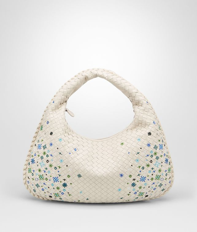 BOTTEGA VENETA MIST INTRECCIATO MEADOW FLOWER MEDIUM VENETA BAG Hobo Bag [*** pickupInStoreShipping_info ***] fp