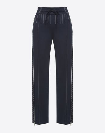 VALENTINO Trousers D Techno Jersey Trousers f