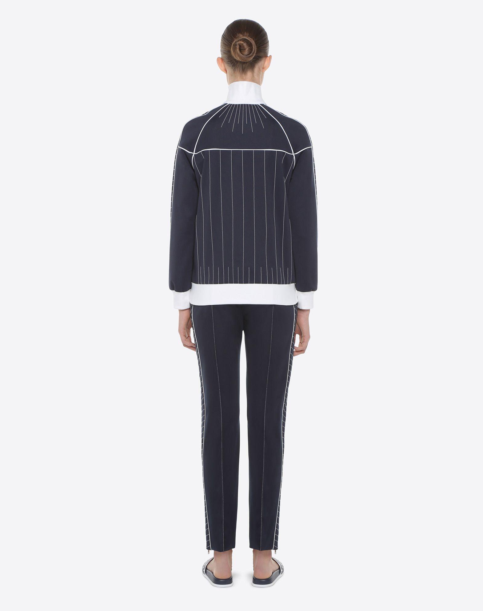 VALENTINO Techno Jersey Trousers Trousers D e