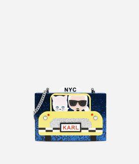 KARL LAGERFELD KARL NYC TAXI MINAUDIERE