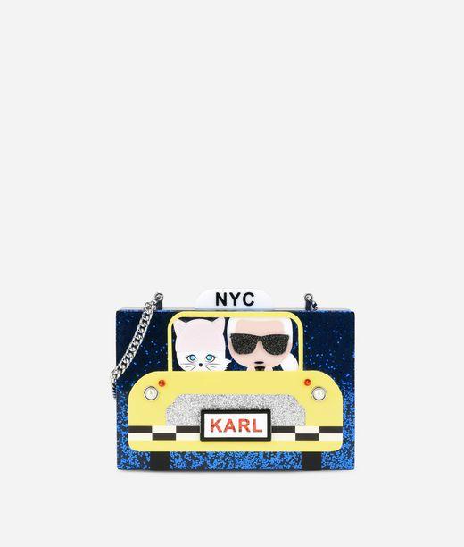 KARL LAGERFELD Karl Nyc Taxi Minaudiere 12_f