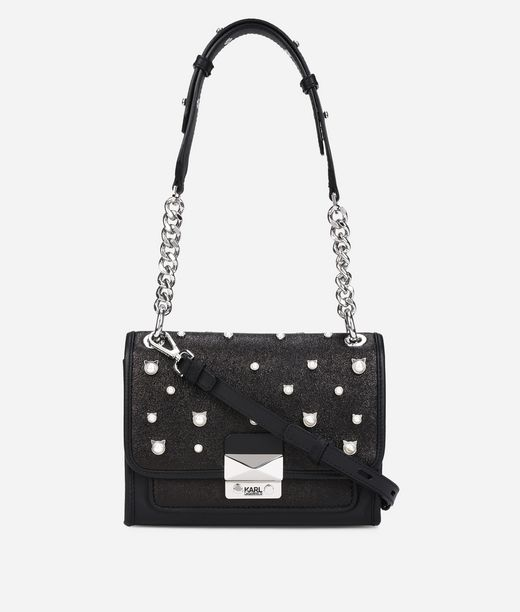 KARL LAGERFELD Cat Pearl Mini Handbag 12_f