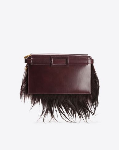 MAISON MARGIELA Goathair belt bag Fanny pack D f