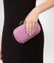 BOTTEGA VENETA TWILIGHT INTRECCIATO IMPERO KNOT Clutch Woman ap