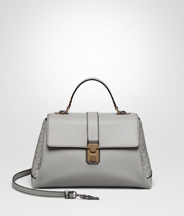BOTTEGA VENETA CEMENT CALF MEDIUM PIAZZA BAG Top Handle Bag [*** pickupInStoreShipping_info ***] fp