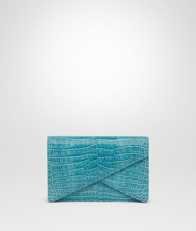 BOTTEGA VENETA AQUA CROCODILE BV CLUTCH Clutch [*** pickupInStoreShipping_info ***] fp