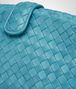 BOTTEGA VENETA AQUA INTRECCIATO NAPPA TOP THE LAUREN 1980 CLUTCH Clutch Woman ep