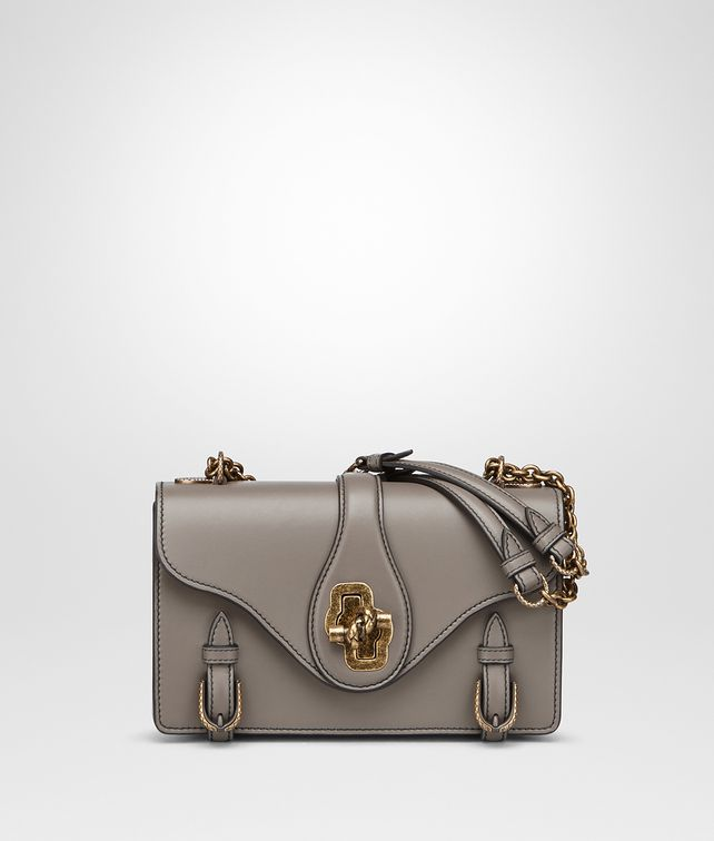 BOTTEGA VENETA BORSA CITY KNOT IN VITELLO STEEL Shoulder Bag [*** pickupInStoreShipping_info ***] fp