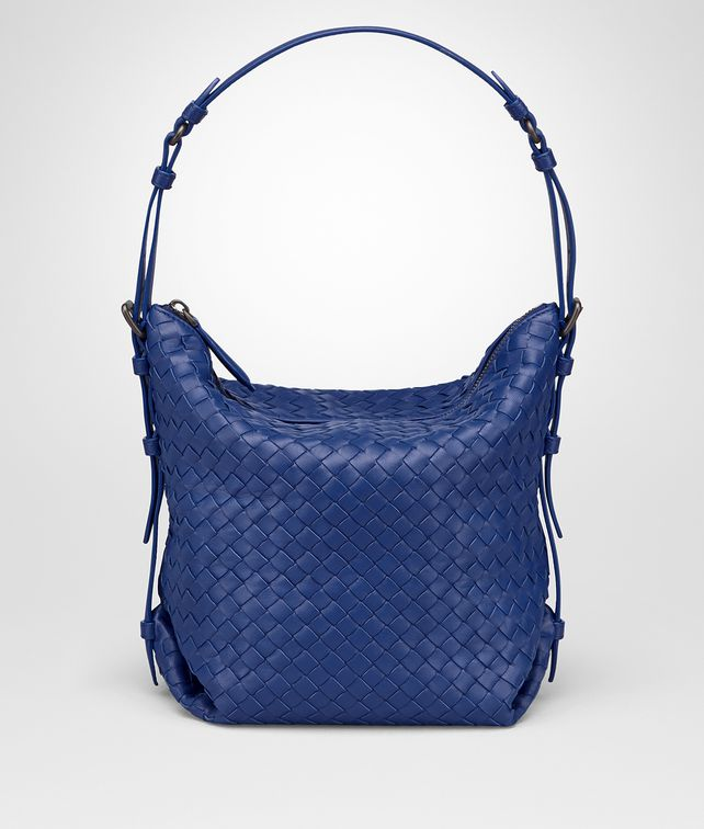 BOTTEGA VENETA COBALT INTRECCIATO NAPPA MEDIUM OSAKA BAG Shoulder Bag [*** pickupInStoreShipping_info ***] fp