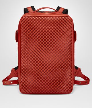 TERRACOTTA CALF GRID BRICK BACKPACK