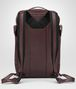 dark barolo intrecciato nappa galaxy brick backpack Back Detail Portrait