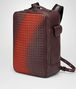 dark barolo intrecciato nappa galaxy brick backpack Right Side Portrait