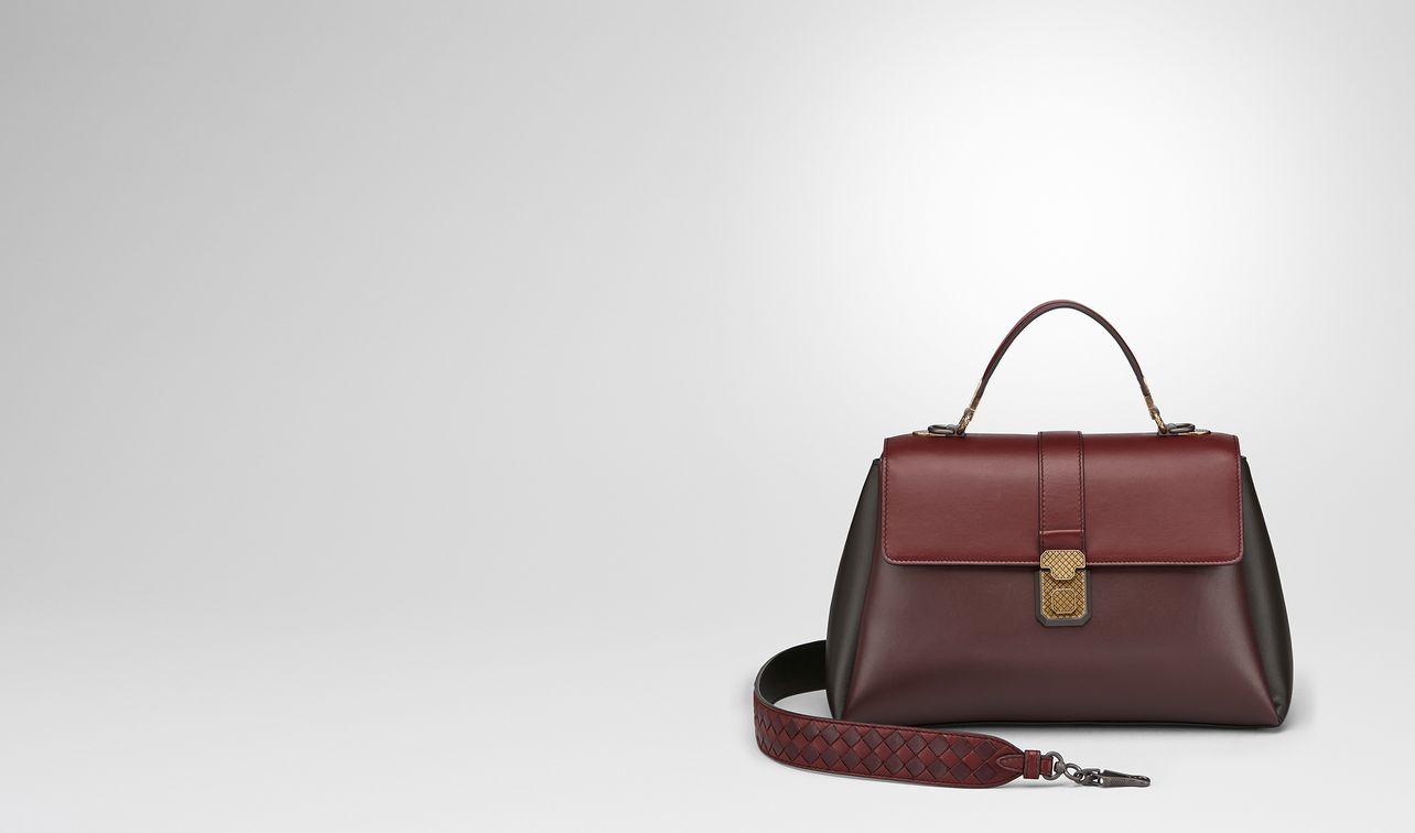 dark barolo nappa medium piazza bag landing