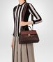 BOTTEGA VENETA DARK BAROLO NAPPA MEDIUM PIAZZA BAG Top Handle Bag D lp