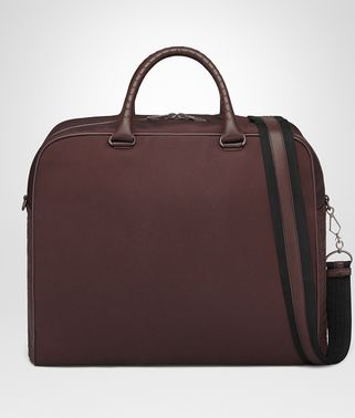 DARK BAROLO CANVAS DUFFEL