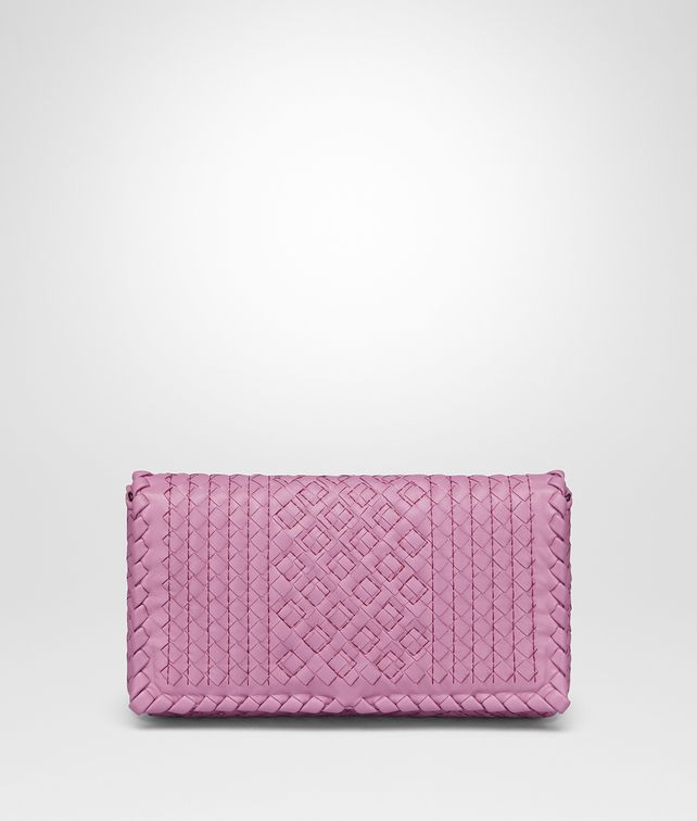 BOTTEGA VENETA TWILIGHT INTRECCIATO CALF MEDIUM CLUTCH Clutch Woman fp