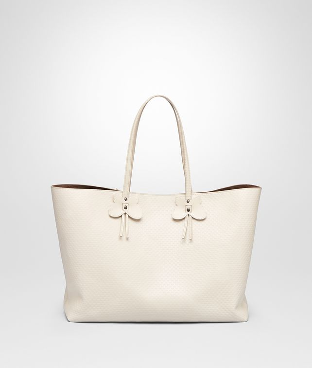 BOTTEGA VENETA MIST CALF SMALL TOTE Tote Bag [*** pickupInStoreShipping_info ***] fp