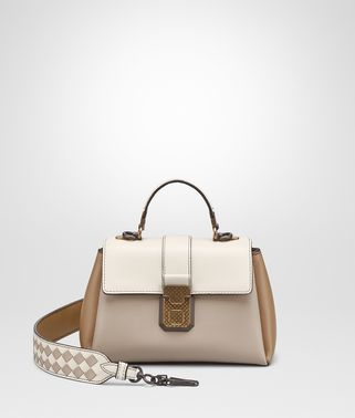 BORSA PIAZZA MINI IN NAPPA MINK