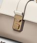 BOTTEGA VENETA MINK NAPPA MINI PIAZZA BAG Top Handle Bag D ep